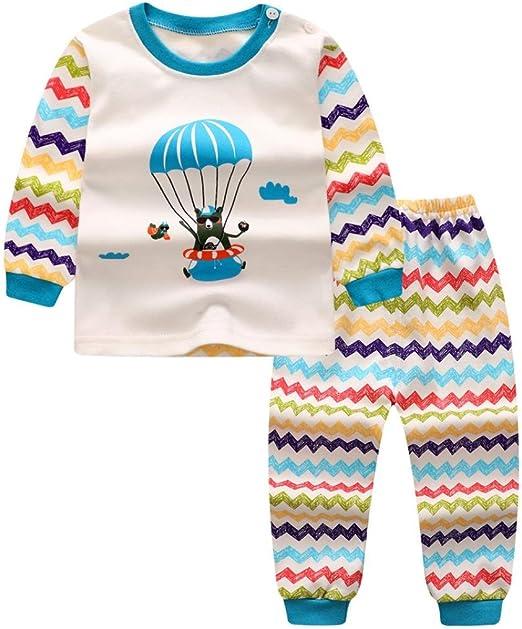 Memela TM Baby Boys Star Print Tops+Pants Outfits Clothes Set 0-36 mos