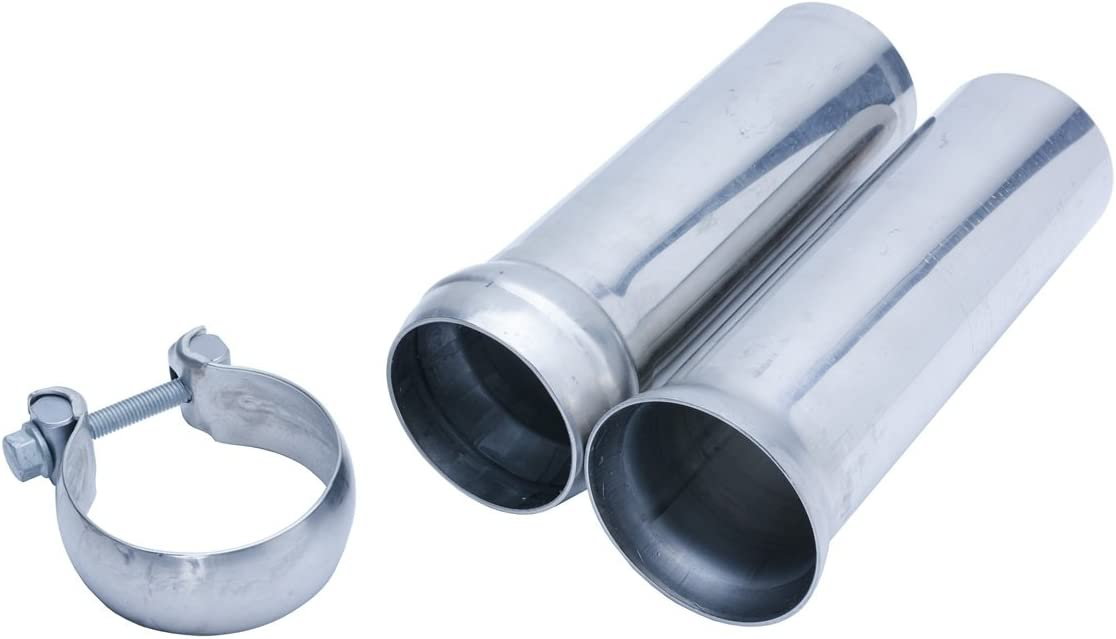 1 Pack Pypes Performance Exhaust PVA16 3in Ball /& Socket Connector with Clamp