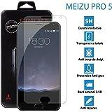 Topaccs, Meizu Pro 5 – Vero vetro di protezione schermo in vetro temprato ultra resistente, proteggi-schermo
