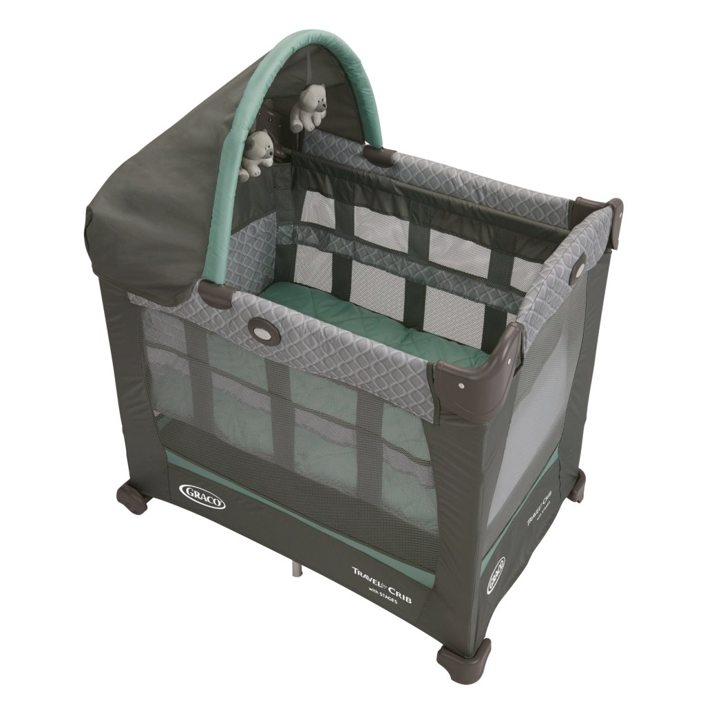 Graco Travel Lite Crib With Stages Manor By Amazoncouk Baby