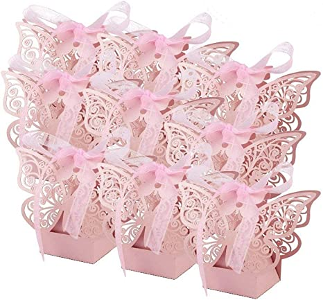10 Large BUTTERFLY Gift Tags//Wedding//Birthday Favour//Christening//Party//Handmade