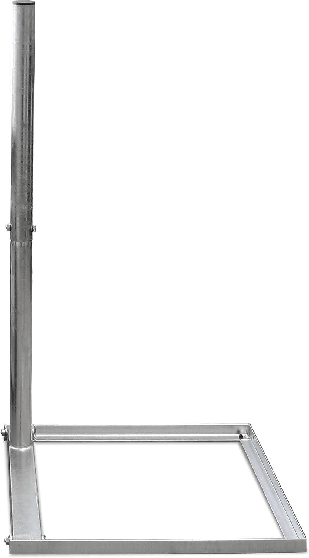Satix SBAF00300 - Soporte de acero galvanizado, 50 x 50 cm