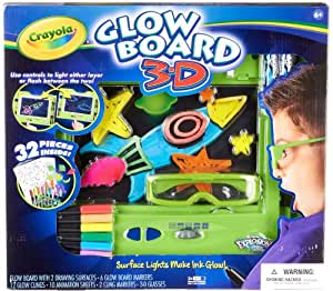 32 Piece Crayola Glow Board 3-D Explosion Set by Crayola