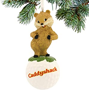 Caddyshack Christmas Ornament