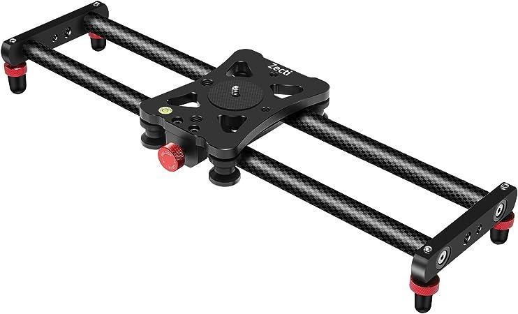 Zecti 15 7 40cm Slider Carbonfaser Kameraschiene Kamera