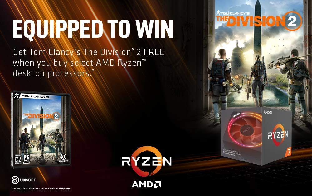 ADMI Gaming PC: Ryzen 2600X / RX 580 8GB / 8GB 2400MHz / 240GB SSD/Win 10