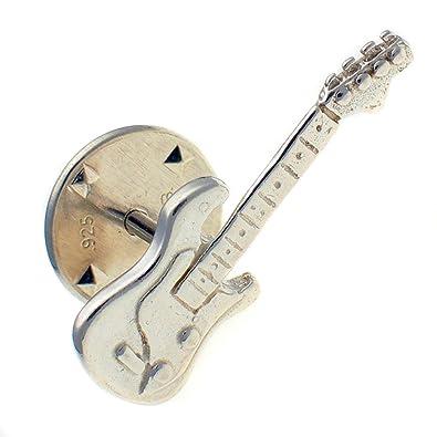 Bliss de ley 925 soldado plateado para guitarra eléctrica Pin de solapa, broche con forma de tuerca WBC1584: Amazon.es: Joyería