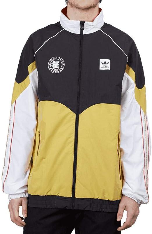 adidas x Evisen Jacket Black White at Amazon Men's Clothing