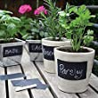 Removable Labels, PYRUS Chalkboard Stickers Perfect for Labeling Jars Kitchen Pantry Storage and Wine Bottles(5*8pcs)