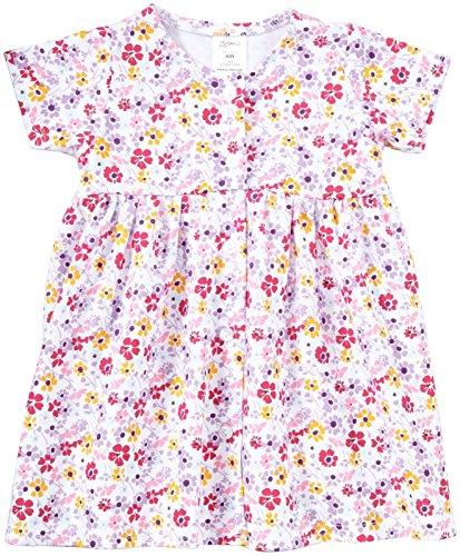 Zutano Violetta Dress (Baby) - White-3 Months