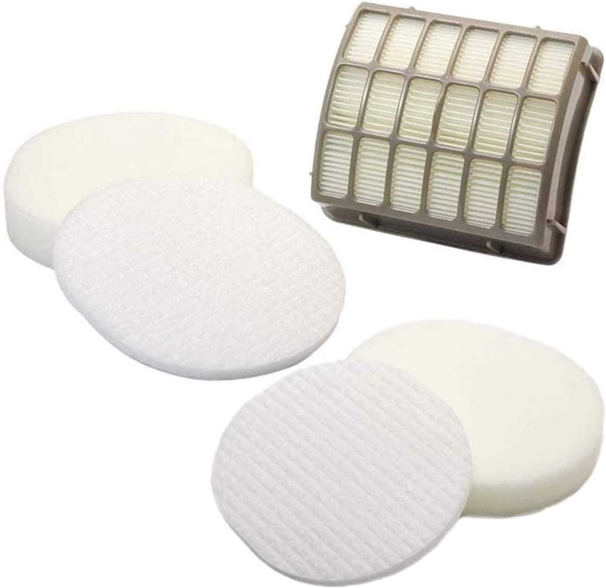 LLHome Replacement Vacuum Filter for Shark Navigator Professional Upright NV60, NV70, NV70 26, NV71, NV80, NV80 26, NV90, NV95, UV420 Vacuums. Part # XFF80