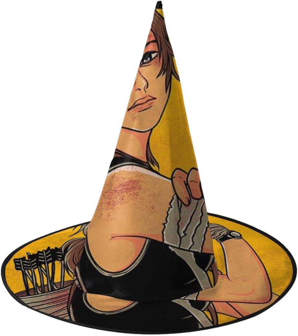 NUJIFGYTCRD Im A Croft We Can Do It Tomb Raider Sombrero de Bruja ...