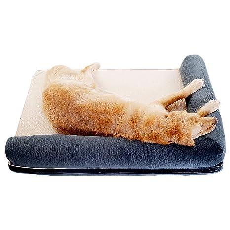 Cama de Felpa para Mascotas Perrera Lavable Cómoda Cama de Lujo para Perros Cat Waterloo Cojín