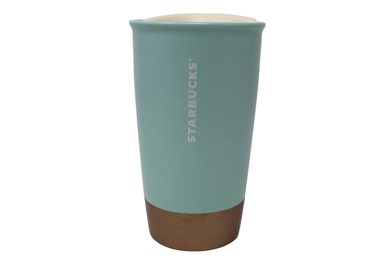 12 Oz Starbucks 2018 Christmas Limited EditionCoffee Is Magic Ceramic Coffee Travel Tumbler