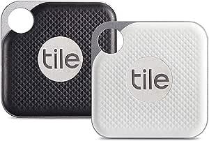 Tile Pro (2018) - 2-pack (1 x Black, 1 x White)