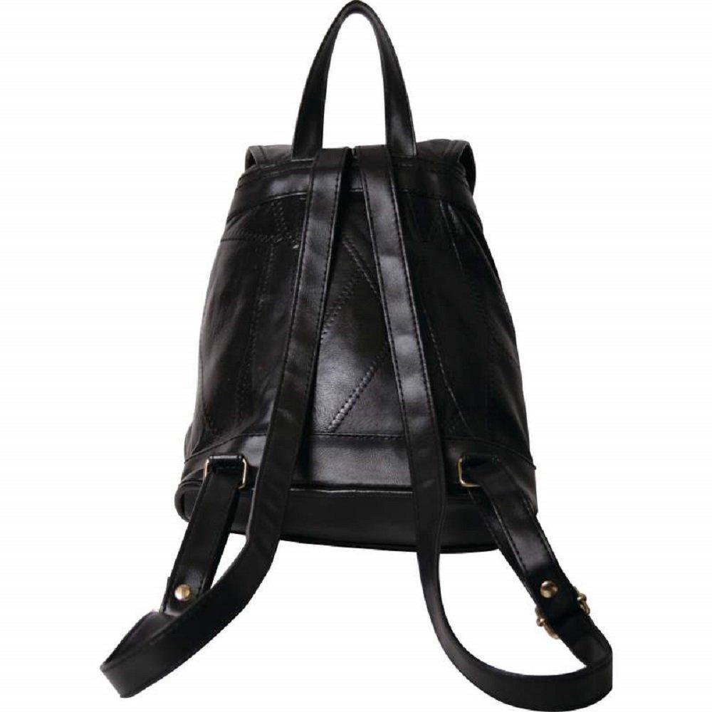 1de13cbe53d8 Amazon.com  Maxam Italian Mosaic Design Genuine Lambskin Leather Backpack  Purse  Home   Kitchen