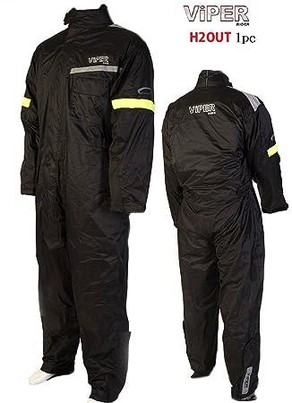 VIPER Motorista Traje de Lluvia H2OUT coprituta Moto Vestido ...