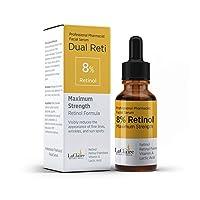 LaClaire 8% Retinol Complex Serum - Best Retinol Serum for Wrinkle Repair & Hyperpigmentation...
