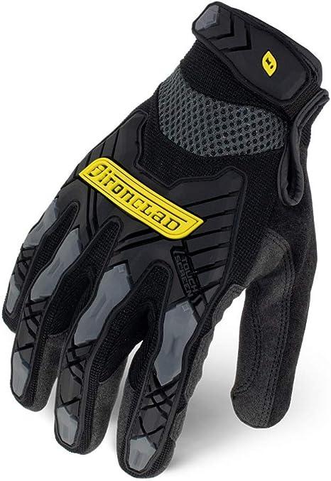 Ironclad  Black  Men/'s  Medium  Silicone-Fused  Work  Gloves