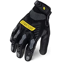 Ironclad Command Impact Work Gloves; Touch Screen Gloves Conductive Palm & Fingers, Impact Protection, Machine Washable