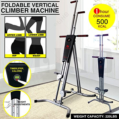 Home Exercise Equipment Usa: From USA ★ Fitnessclub Vertical Climber Exercise Climbing
