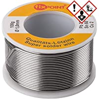 Fixpoint 51065 - Rollo de hilo de estaño (1 mm, 100 g)