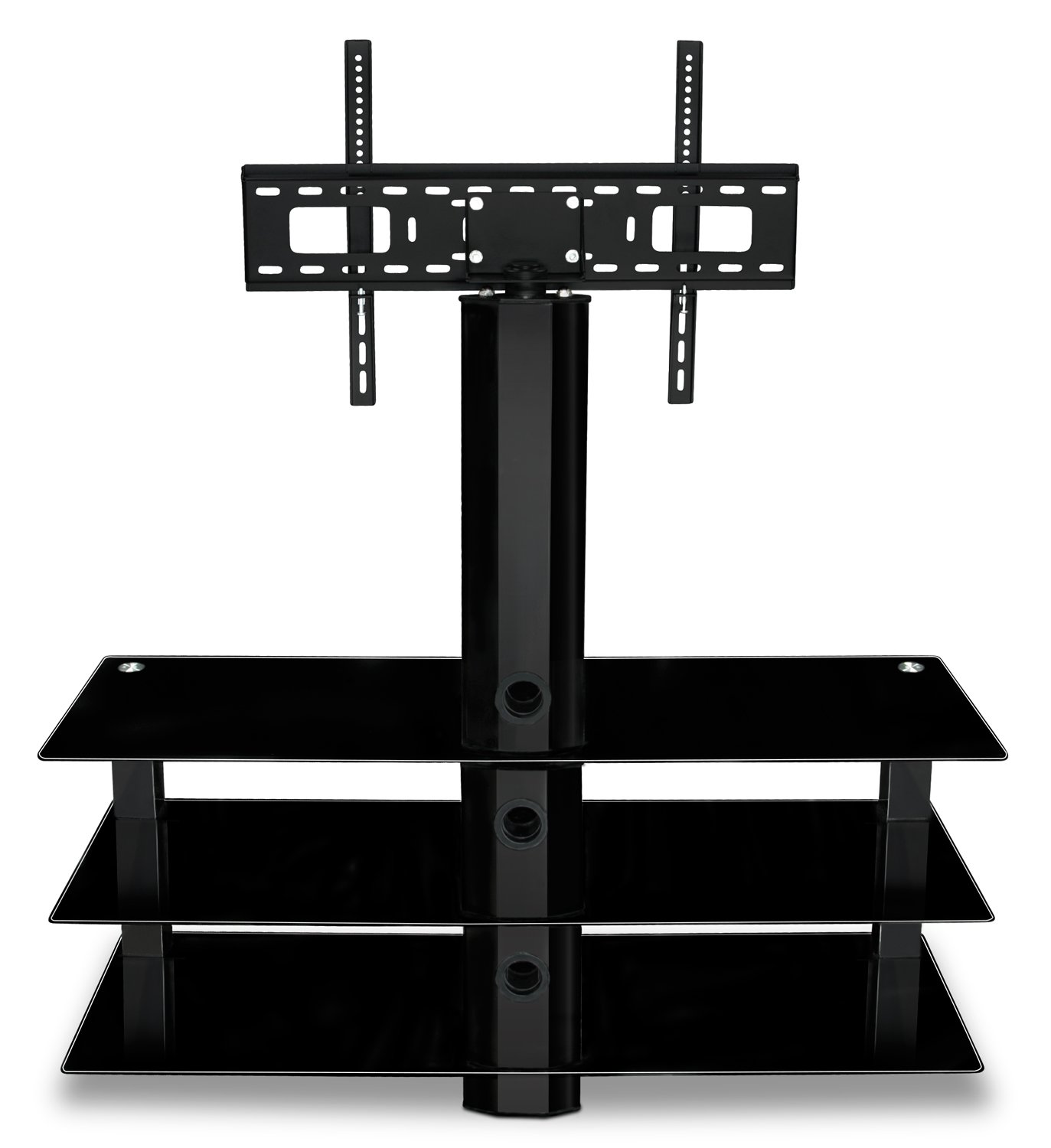 Amazon.com: Mount-It! MI-866 TV Stand with Mount, Entertainment ...