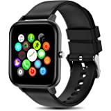 """Yocuby Smart Watch for Women, 1.4"""" Touch Screen Sport Smartwatch for iOS Android Phone,IP67 Splash-Proof, Heart Rate/Sleep Mo"""