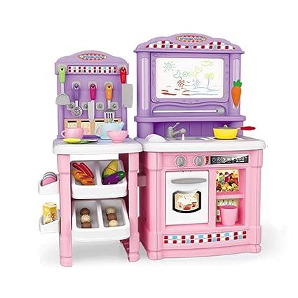 Amazon.com: ZYN Child Kitchen Toy Set Simulation Kitchenware ...