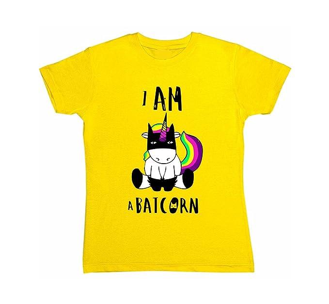 HaiDean Blusas Mujer Verano Elegante Tops Unicornio Impresión T-Shirt Manga Corta Cuello Redondo Modernas Casual Basicas Camisetas Cartoon Camisas: ...