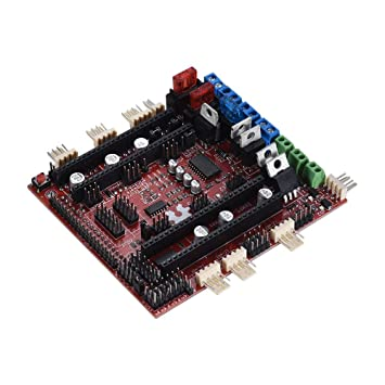 Amazon.com: 3D Printer Motherboard Reprap RAMPS-FD Shield ...