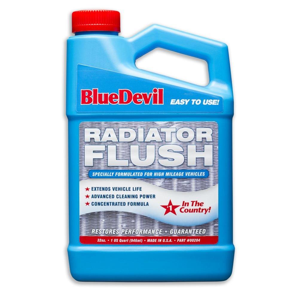 Blue Devil (00204-6PK Radiator Flush - 32 Ounce, (Pack of 6) by Blue Devil