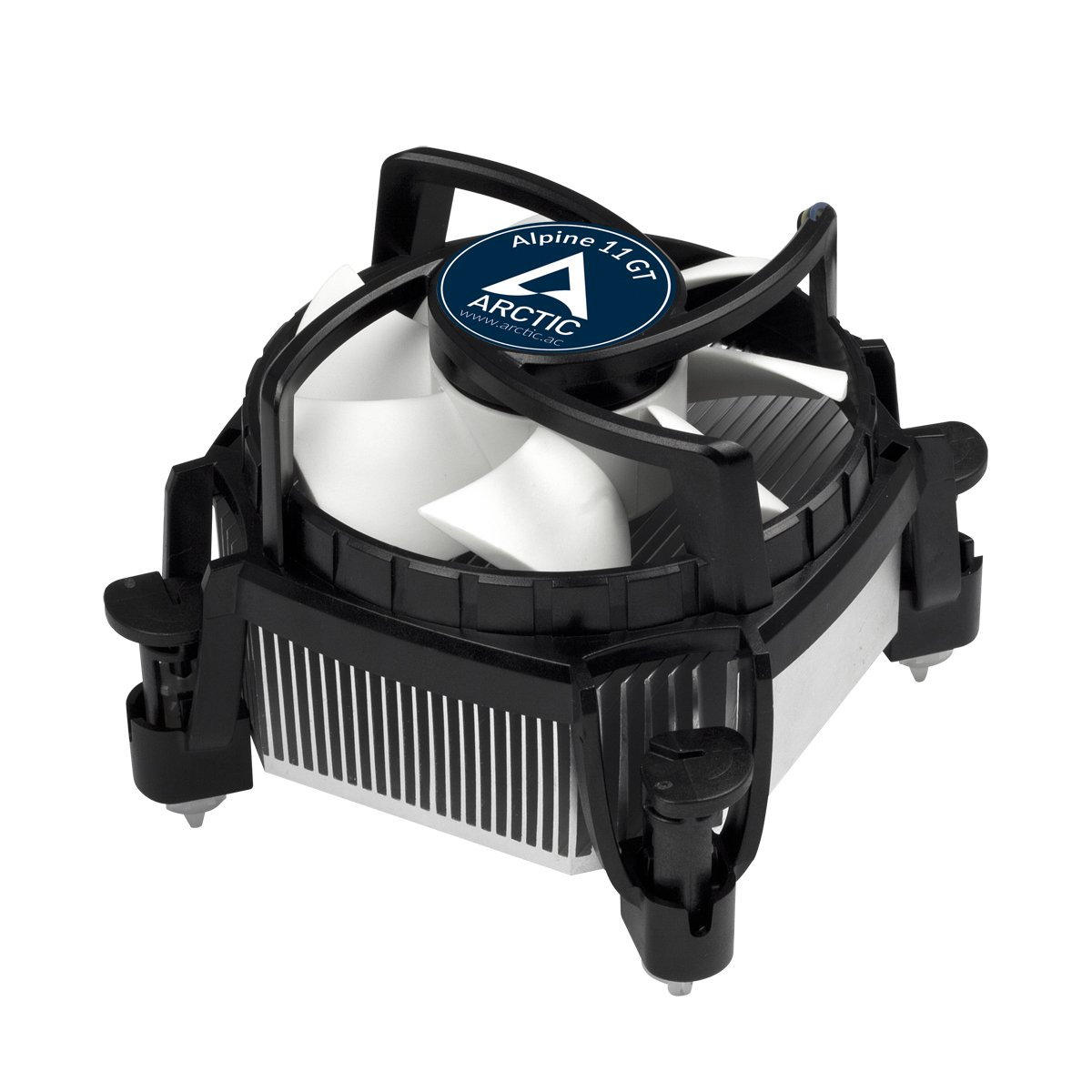 ARCTIC Alpine 11 GT Rev.2, CPU Cooler for Intel Sockets with 80 mm Fan and Pre-applied high performance thermal compound MX-2