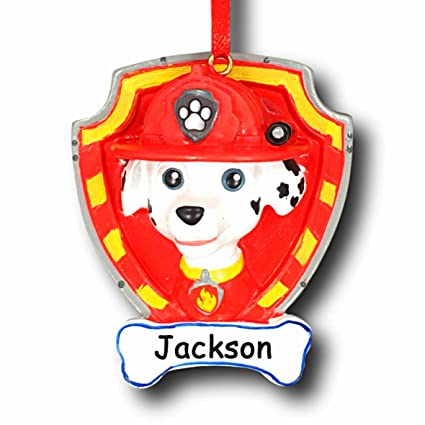 bcd0439eb Image Unavailable. Image not available for. Color: Paw Patrol Personalized  Marshall ...