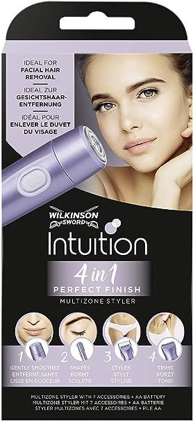 Wilkinson Sword Intuition Perfect Finish - Afeitadora Eléctrica ...