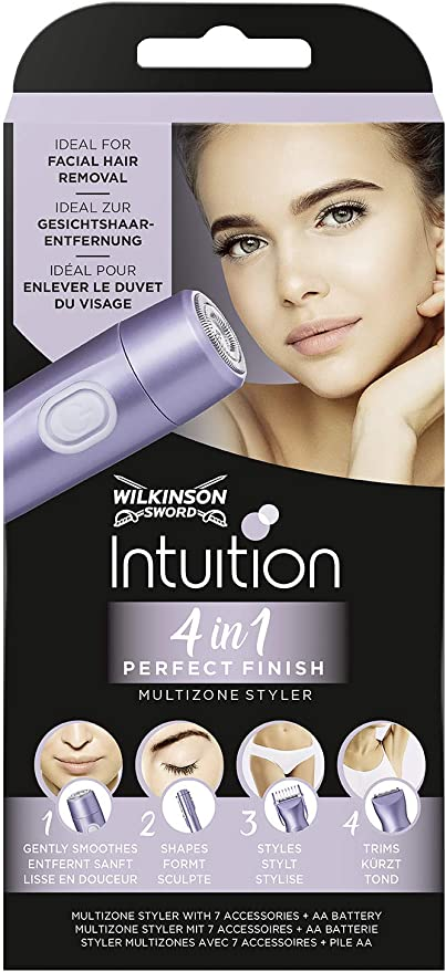 Wilkinson Sword Intuition Perfect Finish - Afeitadora Eléctrica ...