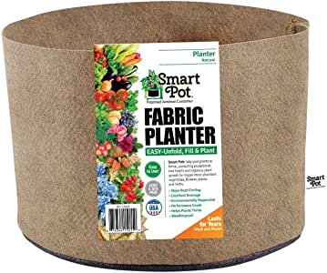 Smart Pots 25-Gallon Smart Pot Soft-Sided Container, Tan
