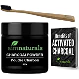 Natural Teeth Whitening Activated Charcoal Powder   Premium Raw 100% Pure Natural Coconut Charcoal Powder