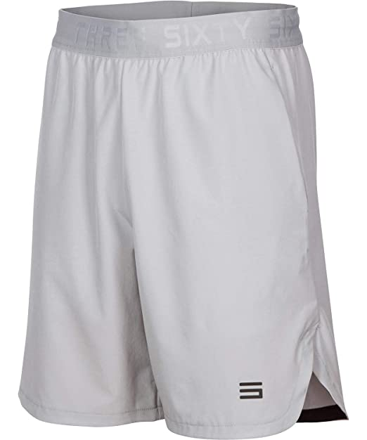 7c3cf0bd Dry Fit Gym Shorts for Men - Moisture Wicking Mens Shorts with Pockets and  Adjustable Waistband