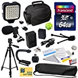 Advanced Accessory Kit for Canon PowerShot G1X G16 G15 SX50HS SX50 HS Digital Camera Includes 64GB High Speed Memory Card + Card Reader + Opteka NB-10L 1800mAh Ultra High Capacity Li-ion Battery Pack
