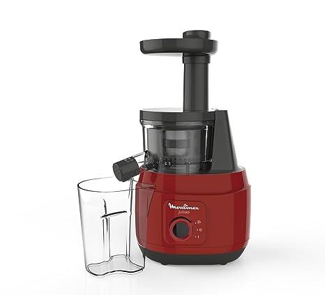 Moulinex Juiceo Licuadora De Prensado En Frío, 150 W, 0.8 litros, Plástico/