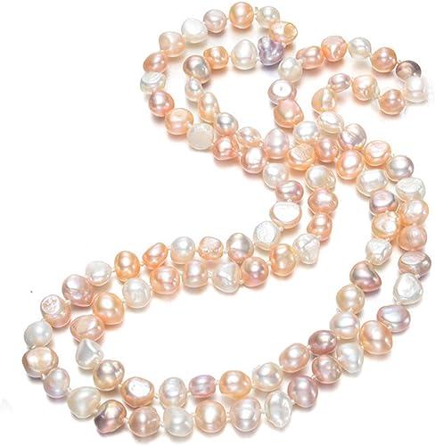 collier perle eau douce baroque
