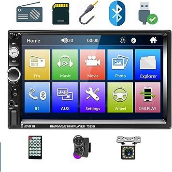 Podofo Doppel Din Autoradio Auto Video Player 7 Hd Elektronik