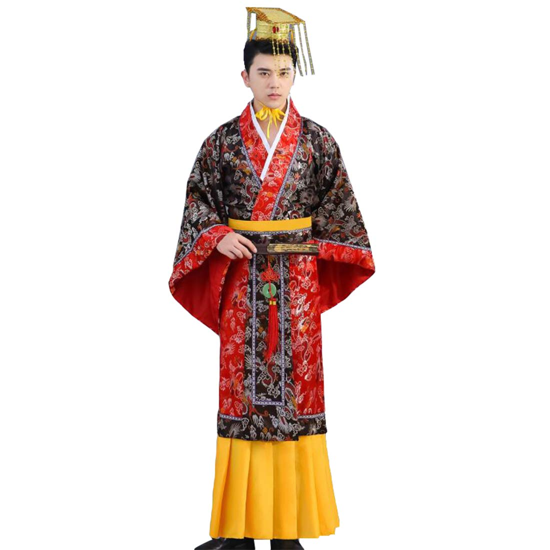Ez-sofei Men's/Boys Ancient Chinese Han Dynasty