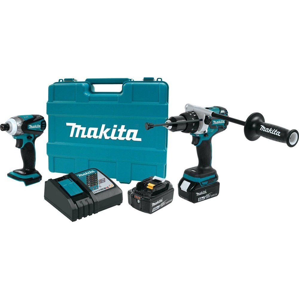 Makita XT252TB 18V LXT Lithium-Ion Brushless Cordless 2-Pc. Combo Kit 5.0Ah – Discontinued by Manufacturer Discontinued by Manufacturer