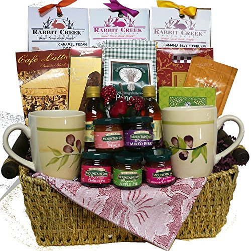 Art of Appreciation Gift Baskets Wake Up and Celebrate Gourmet Breakfast Gift Set