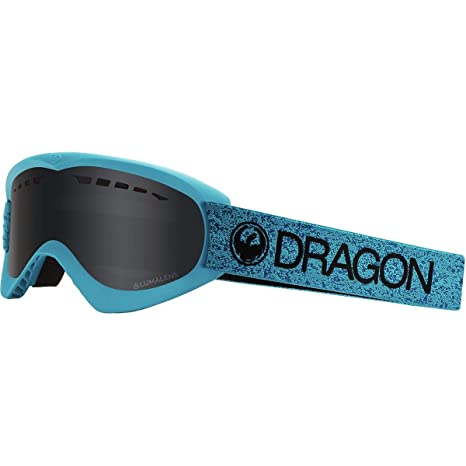 db0b9531988f Amazon.com   Dragon Lil D Goggle - Kids  Black Lum Silver Ion