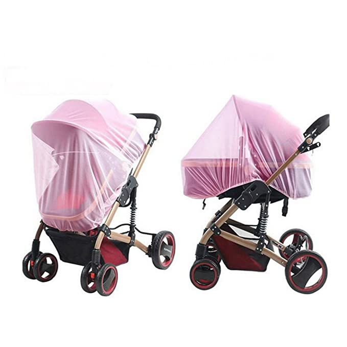 Baby Stroller Mosquito Net Insect Netting For Pram Buggy Infant Carriers Car