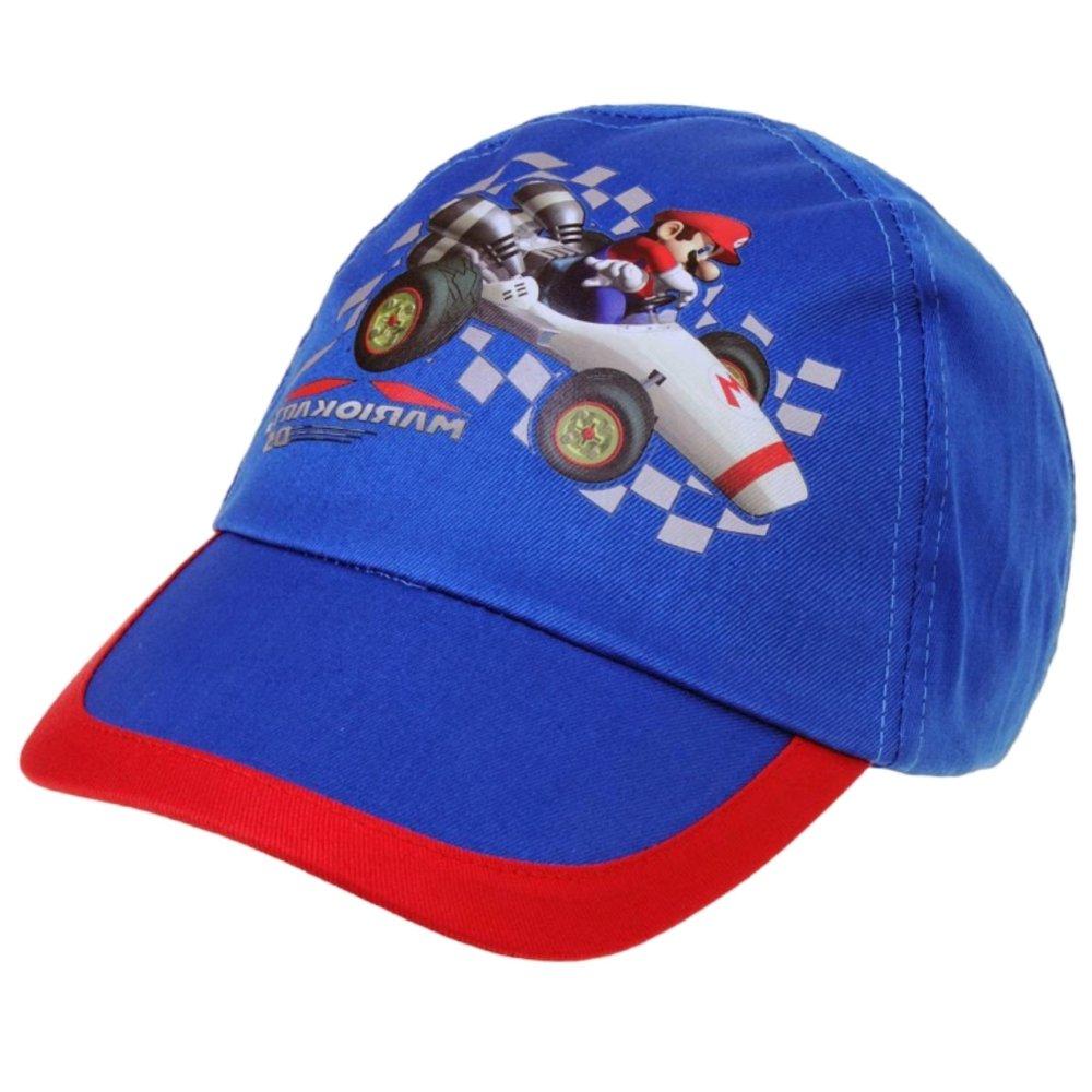 Super Mario Bros algodón diseño de patrón de tela Gorra de béisbol ...