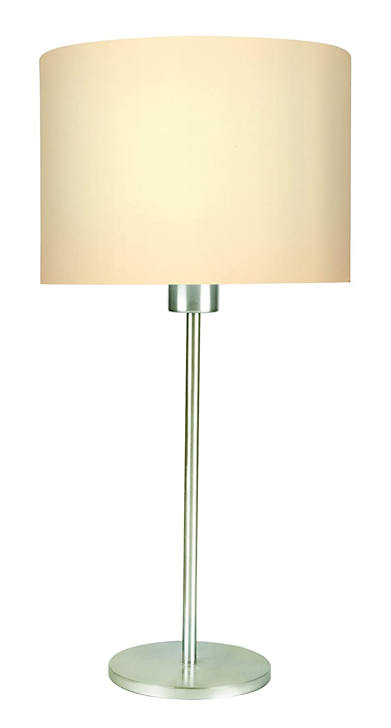 Buy philips fabric 38437 base e27 11 watt led table lamp white buy philips fabric 38437 base e27 11 watt led table lamp white online at low prices in india amazon geotapseo Images